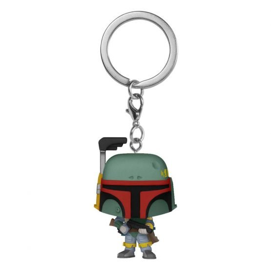 Funko Pocket POP! Star Wars Boba Fett Kulcstartó