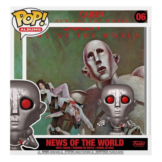 Funko POP! Albums Queen: News of the World