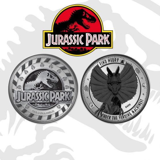 Jurassic Park Gyűjthető Érme Find Nedry