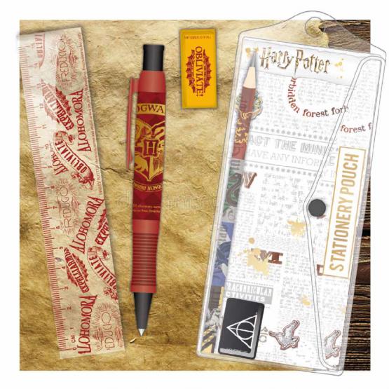 Harry Potter Írószer Készlet Roxfort (Hogwarts)