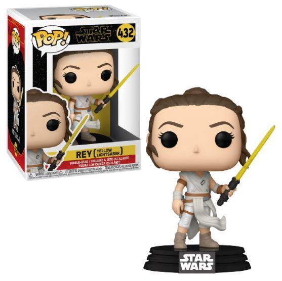 Funko POP! Star Wars: Rey Yellow Lightsaber figura