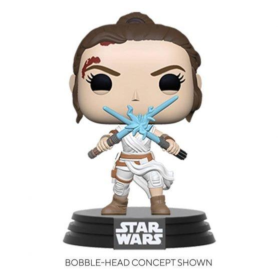 Funko POP! Star Wars: Rey Blue Lightsabers