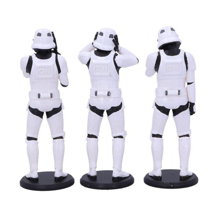 Star Wars Three Wise Stormtroopers Szobor Kollekció
