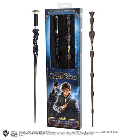 Harry Potter varázspálca készlet Albus Dumbledore & Gellert Grindelwald
