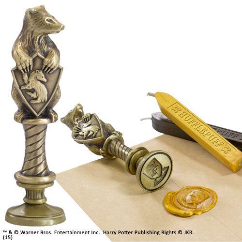 Harry Potter Hugrabug (Hufflepuff) Pecsétnyomó és Pecsétviasz