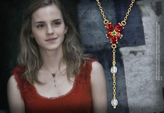 Harry Potter Hermione Vörös Kristály nyaklánca