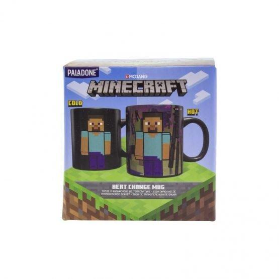 Minecraft Enderman Bögre (Hőre Változó)