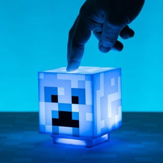 Minecraft Charged Creeper 3D Lámpa - Hangulatvilágítás