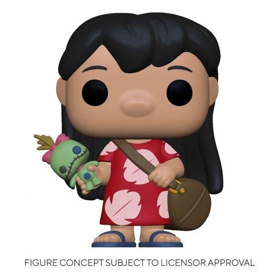 Funko POP! Disney: Lilo & Stitch - Lilo & Scrump