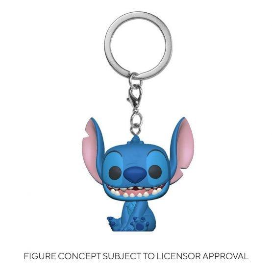 Funko Pocket POP! Disney: Lilo & Stitch - Stitch Seated Kulcstartó