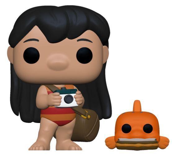 Funko POP! Disney: Lilo & Stitch - Lilo & Pudge