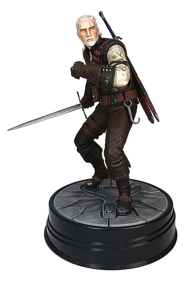 The Witcher Geralt Manticore Armor 20 cm - Szobor