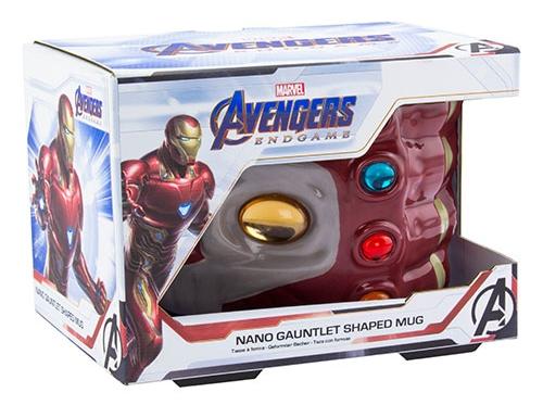 Marvel: Vasember (Iron Man) Nano Kesztyű (Nano Gauntlet) Bögre