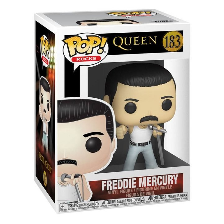 Funko POP! Rocks Queen - Freddie Mercury Radio Gaga 1985